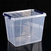 Контейнер для хранения с крышкой 'Профи', 25 л, 41x30x31 см, цвет МИКС