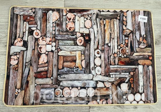 Коврик одинарный бамбуковый 60х90
