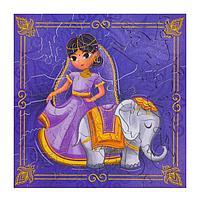 Пазл 'Индийская Принцесса', дерево, 35 детали