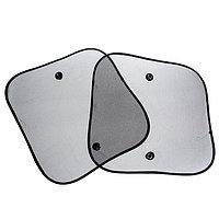 Шторки солнцезащитные TORSO для авто на присосках, 36x44 см, набор 2 шт