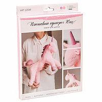 Мягкая игрушка 'Плюшевый единорог Юни', набор для шитья, 18.5 х 22.8 х 2.5 см