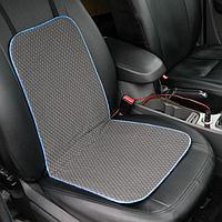 Подогрев сидений Cartage, со спинкой, без регулятора, 12 В, 50 Вт, 40х80 см, греющий жгут - нити MicroHEAT