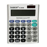Калькулятор настольный, 12-разрядный, 3855B, двойное питание