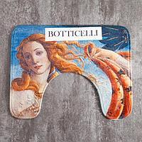 Коврик для ванной Этель 'Ботичелли',50х40 см, велюр