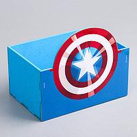 Органайзер для канцелярии 'Капитан Америка', Мстители, 150 х 100 х 80 мм