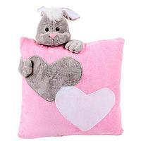 Мягкая игрушка-подушка 'Заяц', 34 см