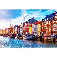 Картина на подрамнике 'Голландские домики' 50*100 см