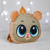 Рюкзак детский 'Милый мишка', плюшевый