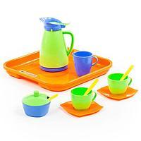 Набор детской посуды 'Алиса', с подносом на 2 персоны, 11 элементов