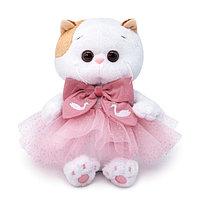 Мягкая игрушка 'Кошечка Ли-Ли baby' в юбке с блестками, 20 см