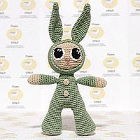 Набор для вязания игрушки 'Зайка в комбинезоне Малыш' 25х13 см