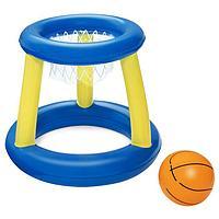 Набор для игр на воде 'Баскетбол', d61 см, корзина, мяч, от 3 лет, 52190 Bestway