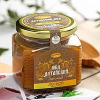 Мёд алтайский лесной, натуральный цветочный, 500 г