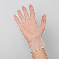 Перчатки виниловые неопудренные нестирильные John Pack, размер L, 100 шт/уп, цвет прозрачный