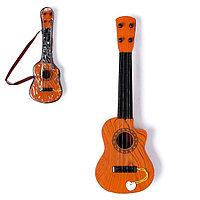 Игрушка музыкальная 'Классическая гитара', 4 струны