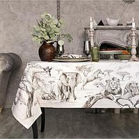 Набор столовый Этель 'Сафари', скатерть 110х150 см, салф. 40х40 см-4шт, 100 хл