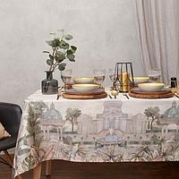 Набор столовый 'Этель' Райский сад, скатерть 110х150 +/- 3см, салфетки 4 шт
