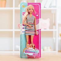 Кукла-модель шарнирная 'Эмма' в платье, МИКС