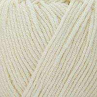 Пряжа 'Cotton Gold' 55 хлопок, 45 акрил, 330м/100гр (62 кремовый)
