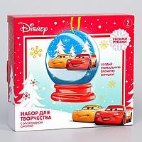 Застывающие фигурки из эпоксидной смолы 'Снежный шар', Елочная игрушка, Тачки