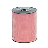 Лента для декора и подарков, светло-розовый, 0,5 см х 500 м