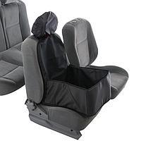 Гамак для перевозки животных на переднее сиденье, 40х40 см, черный, 3 слоя с ПВХ 600