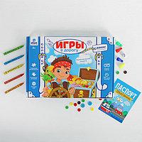 Развивающий набор для творчества 'Приключения пирата' , карандаши, пластилин