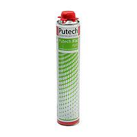 Клей-пена Putech, полиуретановый, универсальный, белый, 1000 мл