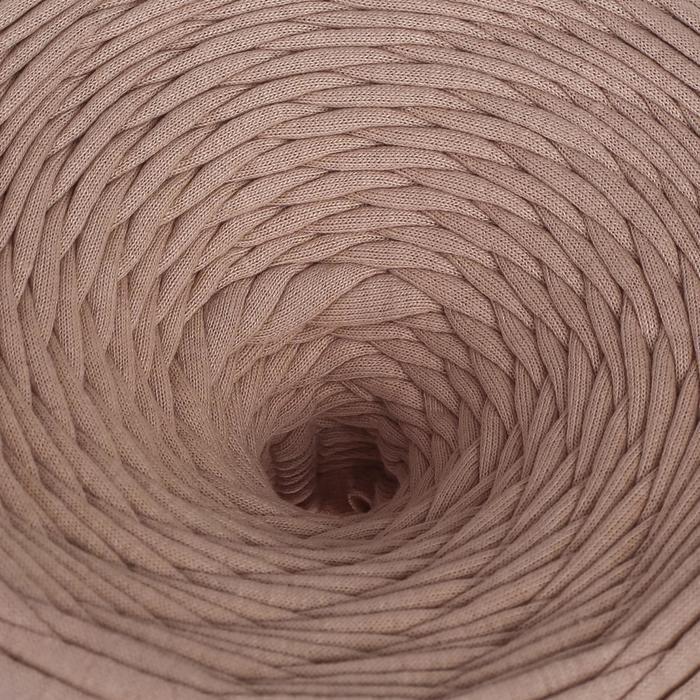 Трикотажная лента 'Лентино' лицевая 100м/320±15гр, 7-8 мм (капучино) МИКС - фото 1