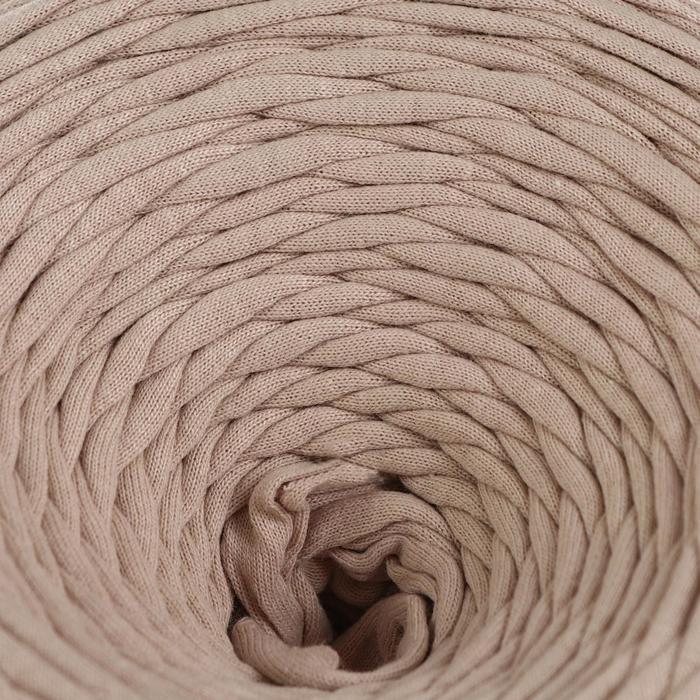 Трикотажная лента 'Лентино' лицевая 100м/320±15гр, 7-8 мм (капучино) МИКС - фото 2