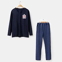 Комплект мужской (джемпер, брюки) 'Оскар', цвет МИКС, размер 54
