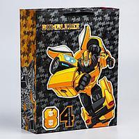 Пакет ламинат вертикальный '84', 31х40х11 см, Transformers