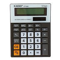 Калькулятор настольный, 12-разрядный, 302, двойное питание