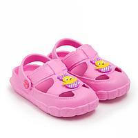 Сабо детские, цвет розовый, размер 24