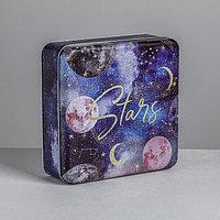 Подарочная коробка Stars, 17 х 17 х 5,5см
