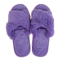 Тапочки женские цвет фиолетовый, размер 36-37