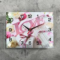 Часы настенные, серия Люди, 'Любовь', 20х26 см микс
