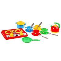 Набор для кухни 'Галинка 5', плита, кастрюля, сковорода, чайник, чайный набор