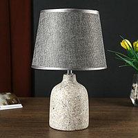 Лампа настольная 32162/1 E14 40Вт серый 20х20х32 см