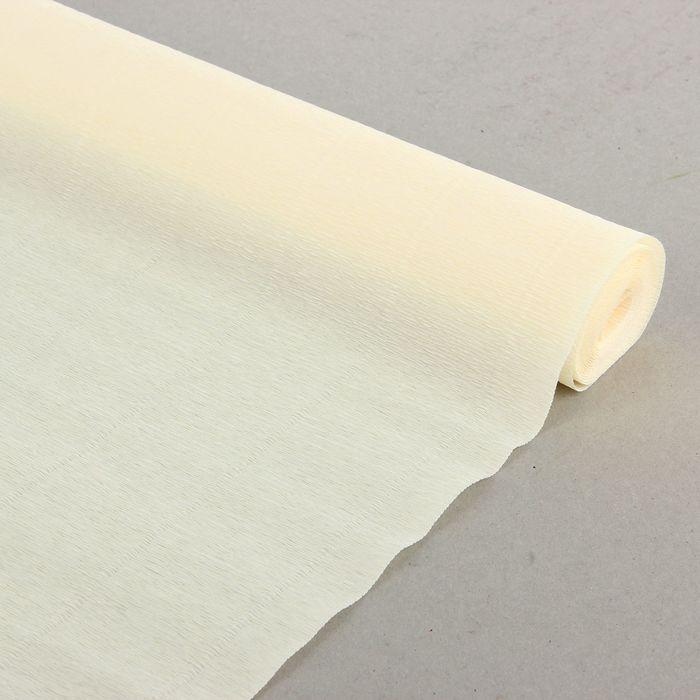 Бумага гофрированная, 903 'Слоновая кость', 0,5 х 2,5 м - фото 2