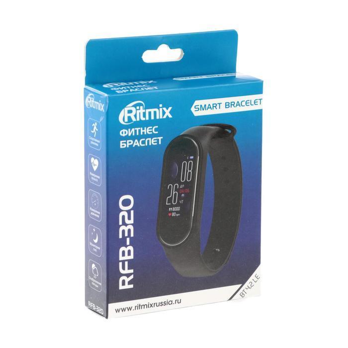 Фитнес-браслет Ritmix RFB-320, 0.96', цветной дисплей, пульсометр, 90 мАч,чёрный - фото 6