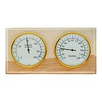 Деревянный термометр 'Станция банная' биметалическая в картоне,