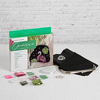 Вышивка бисером на сумке 'Фламинго'. Набор для творчества