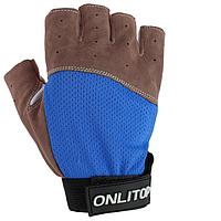 Перчатки для фитнеса, замша, размер XS