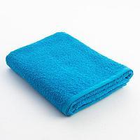 Полотенце махровое Экономь и Я 50х90 см, цв. голубой, 340 г/м