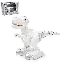 Интерактивный робот 'Умный Динозавр' с подвижным хвостом, ходит, реагирует на касания, работает от батареек