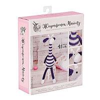 Амигуруми Мягкая игрушка 'Жирафик Майлз', набор для вязания, 10 x 4 x 14 см