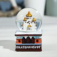 Снежный шар 'Екатеринбург. Храм-на-Крови'