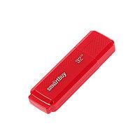 Флешка Smartbuy Dock Red, 32 Гб, USB2.0, чт до 25 Мб/с, зап до 15 Мб/с, красная