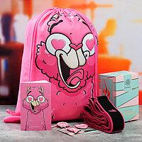 Набор Grace Dance сумка на лямках, набор значков, блокнот, эспандер для растяжки